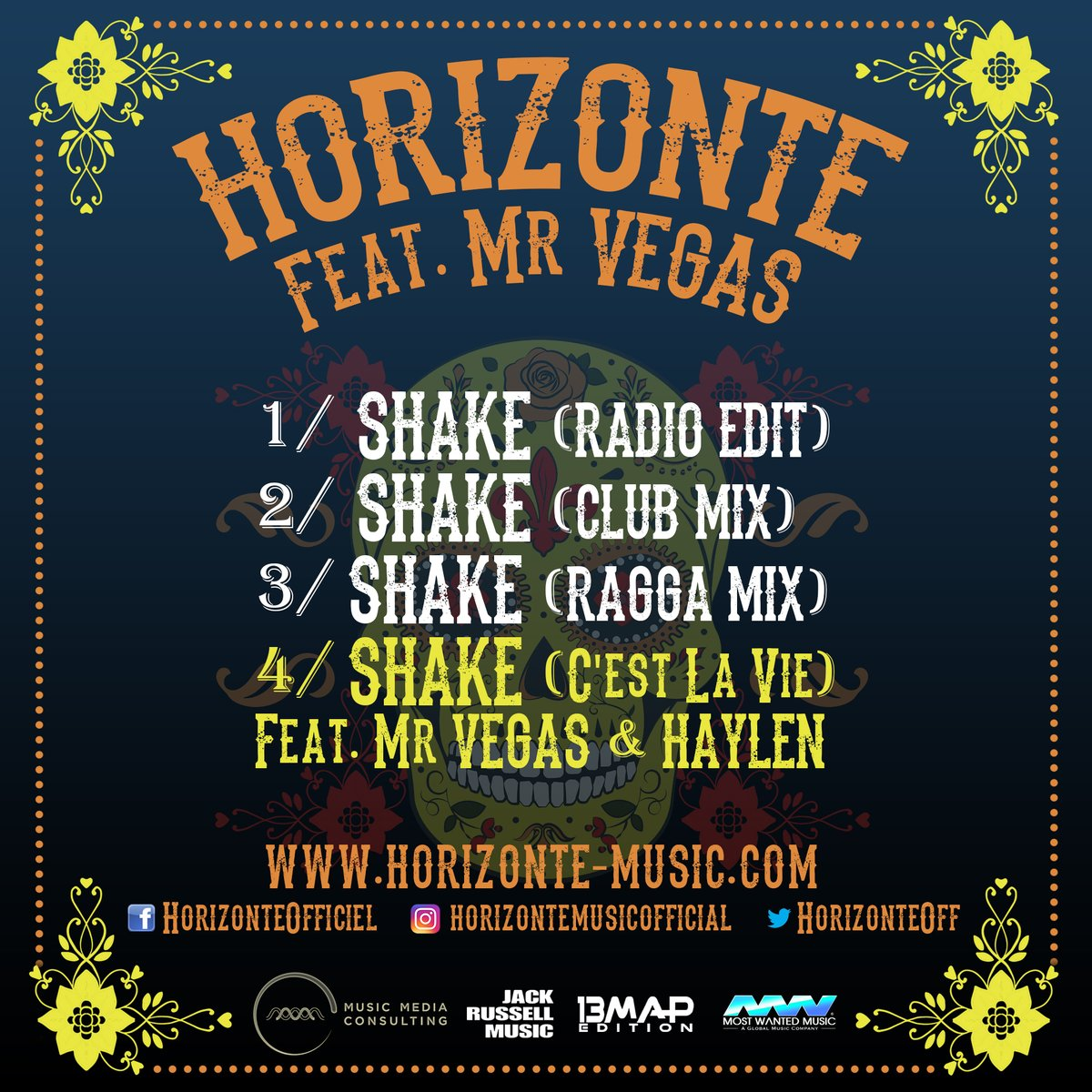 Cover Horizonte Mr Vegas Shake
